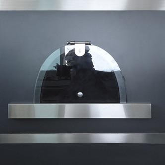 Porta de forno com estrutura em aço inox