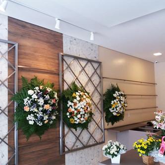 Suporte de parede para flores