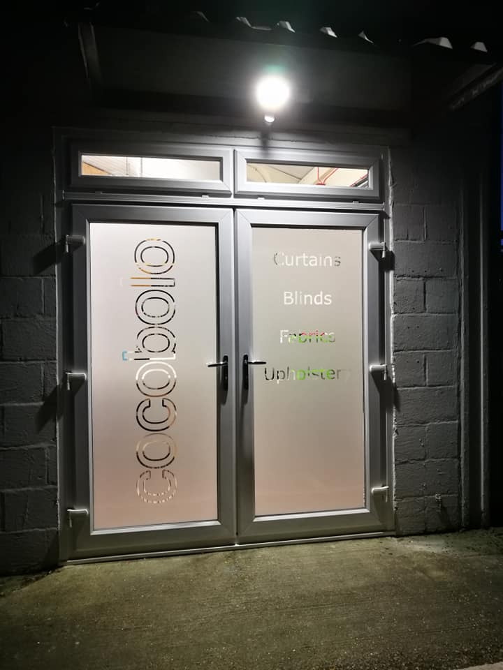Our new doors