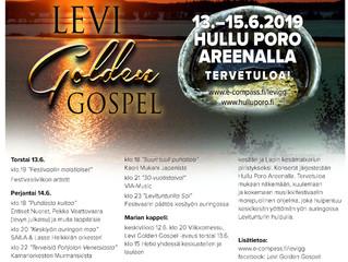 Kesän 2019 Levi Golden Gospel!