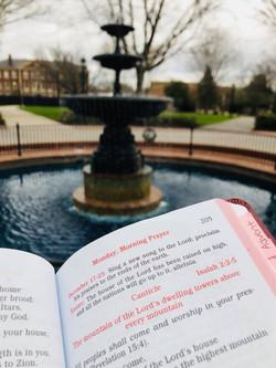 Morning Prayer on Campus