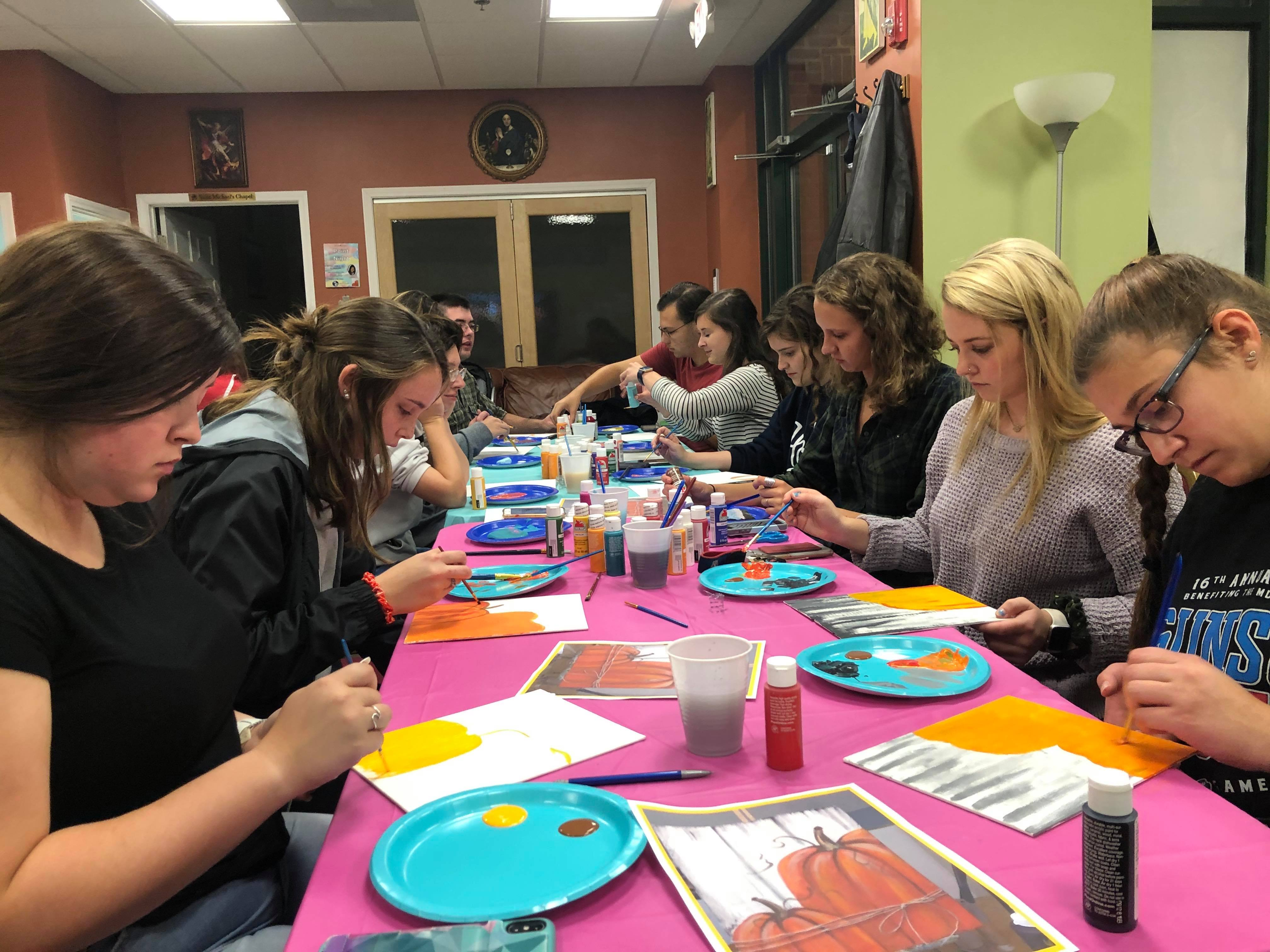 Paint Night Fun!