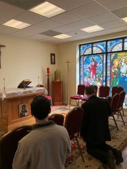 Bishop Knestout Visited us!