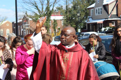 Fr. Charles at Palm Sunday