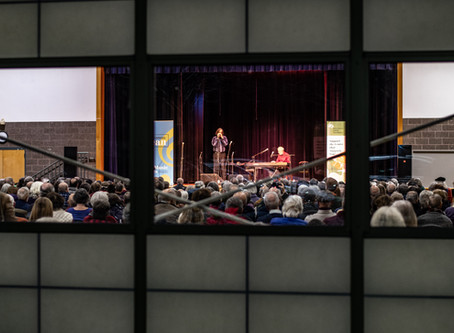 Corky Siegel and Howard Levy Entertain a Full House At Jamming Jean Concert