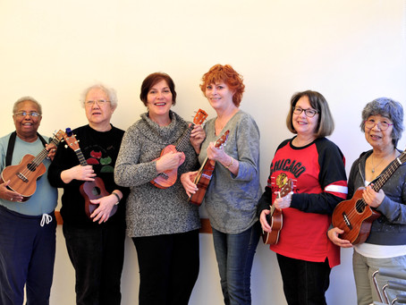 Join Our Ukulele Sing Along on March 8
