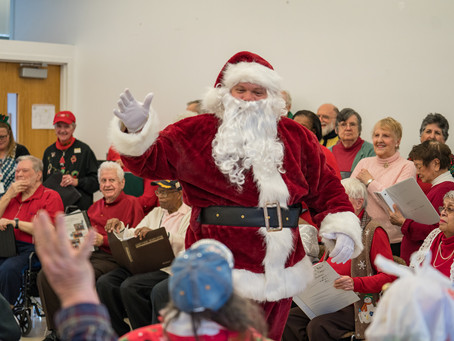 Celebrating the Holidays at the Levy Senior Center