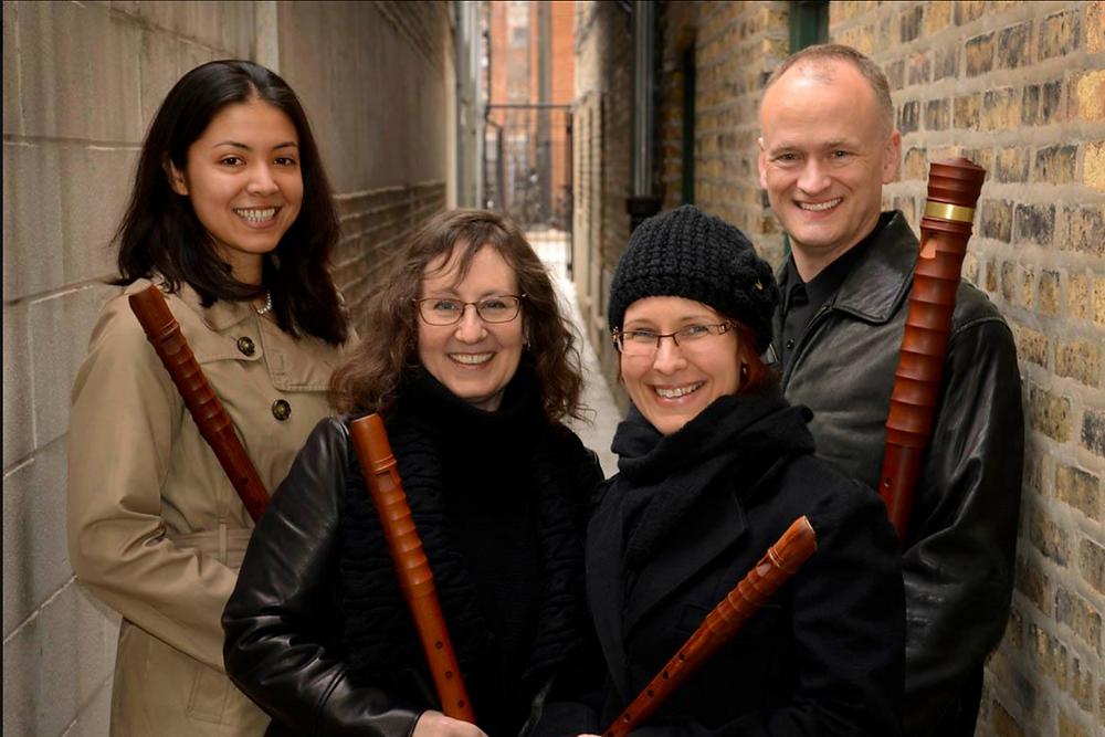 May Concert Chicago Recorder Quartet | Fran Randall Memorial Concert Series