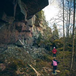Haukkamäen luola, Salo