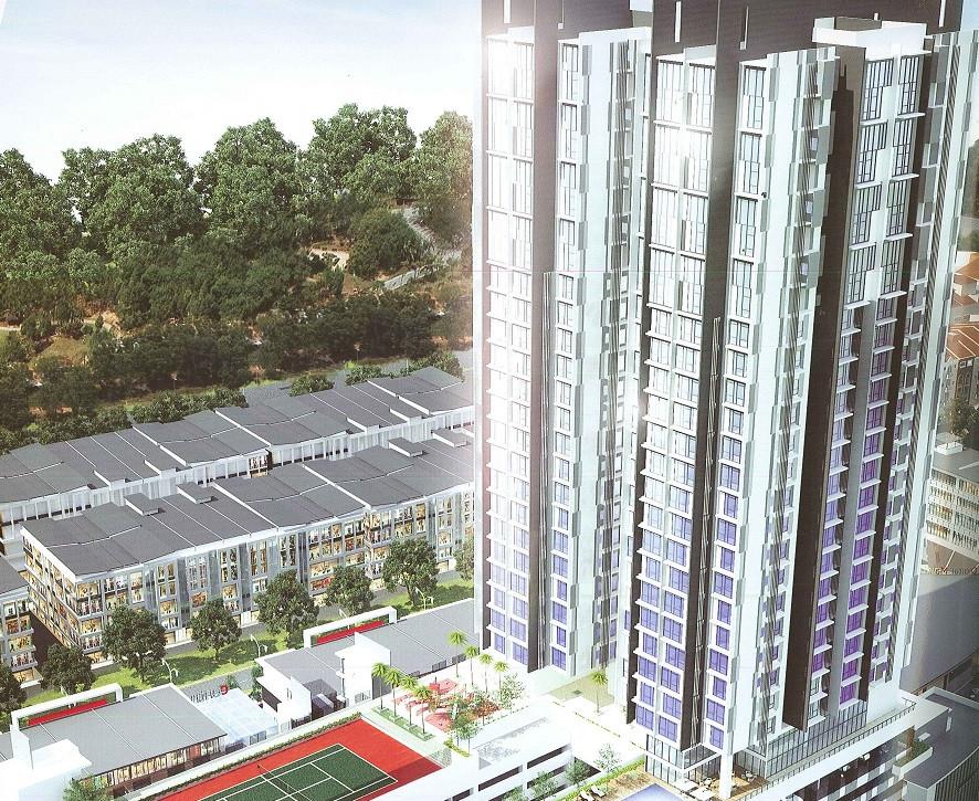 CBD Perdana Centrus Soho