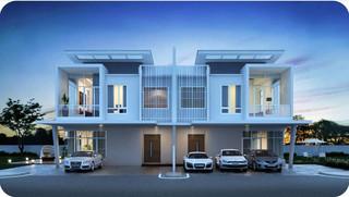 Garden Residence Semi-D Freehold Properties  - Developer Unit -