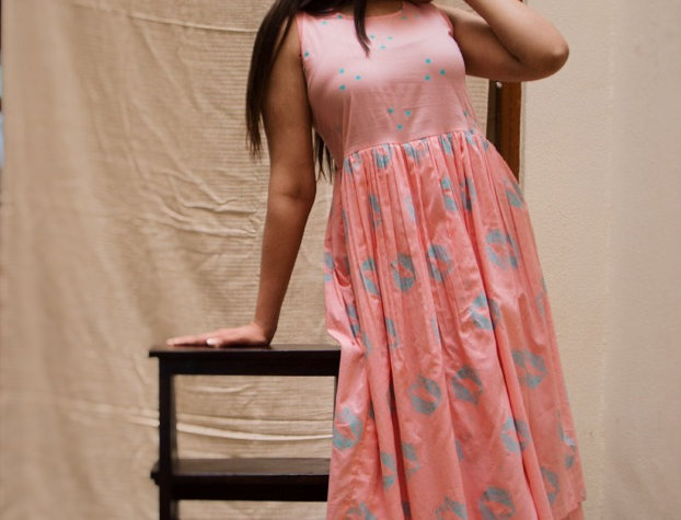 Mor Layered Dress