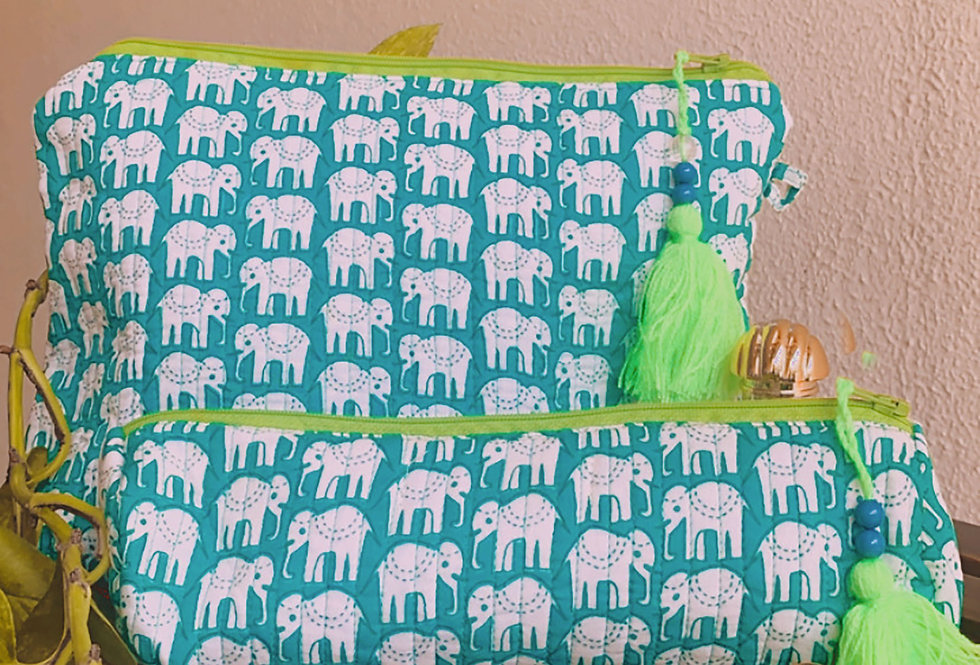 Hathi Flexi-Pouch Turquoise