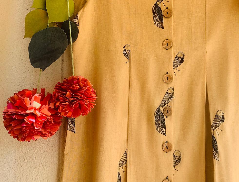 Songbird Button-Down Dress