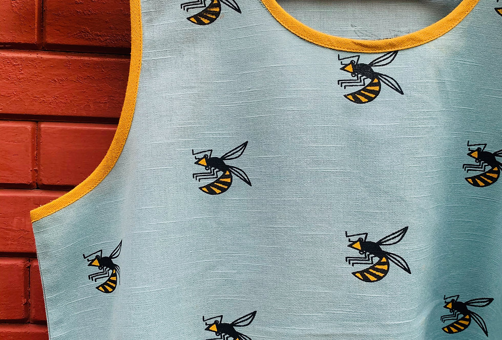 Bees High-Low Top