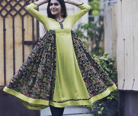 Garden Print Kali Dress