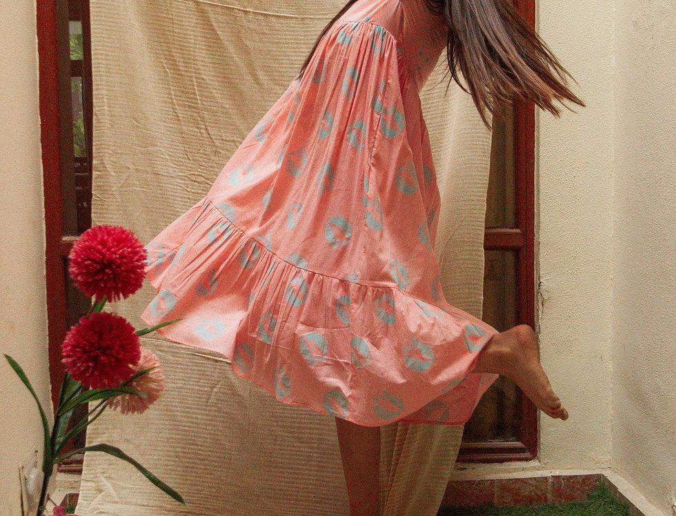 Mor Tiered Dress