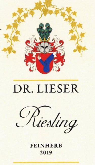 2019 Riesling Feinherb