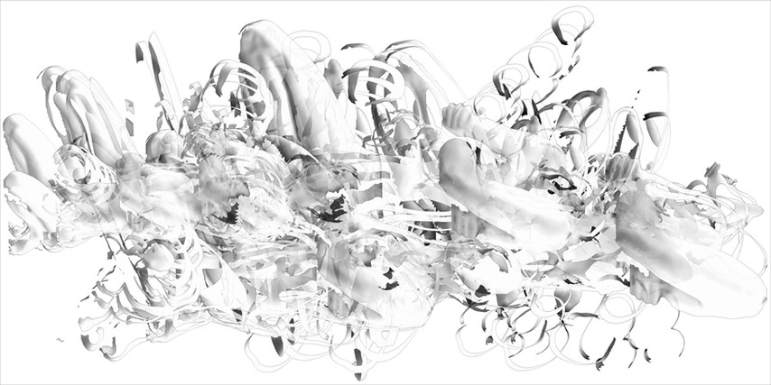 "40 seconds, pigment print on paper, 24"" x 48"""