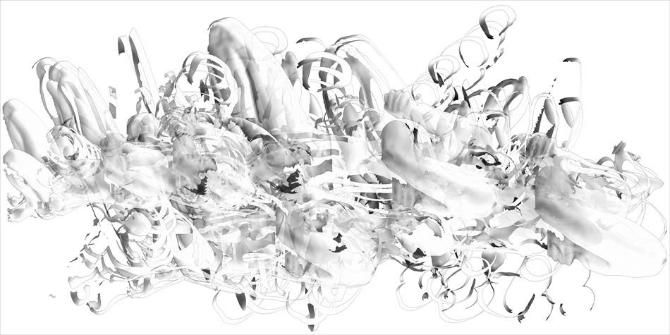 "40 seconds, pigment print on paper, 24"" x 48"""