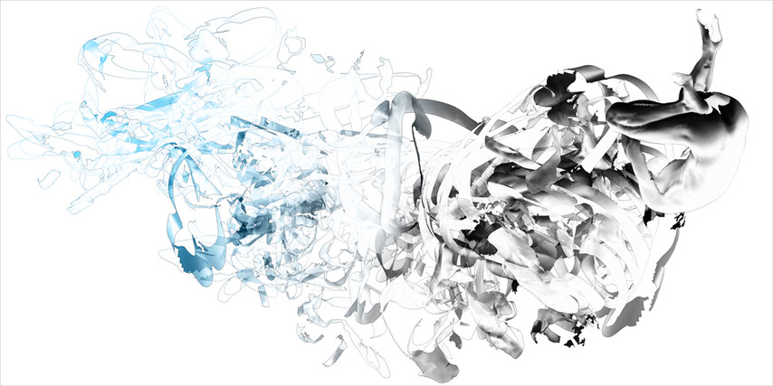 "9.75 seconds, pigment print on paper, 24"" x 48"""