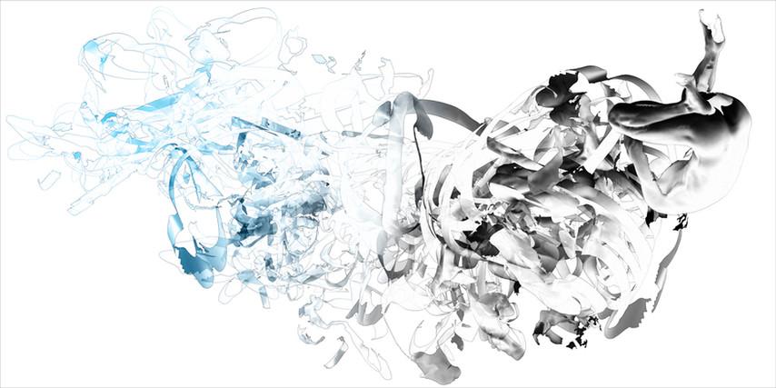 "9.75 seconds, pigment print on paper, 24"" x 48"""