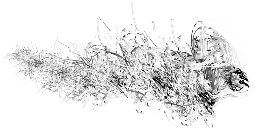 "32.76 seconds, pigment print on paper, 24"" x 48"""