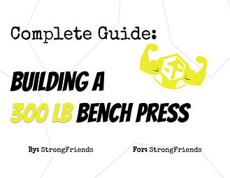 Building a 300 Pound Bench Press Cover P