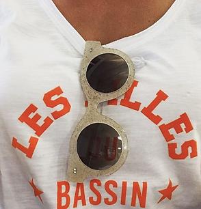 les filles du bassin + lunettes en sable