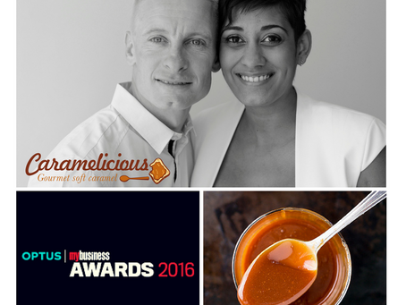 OPTUS MY BUSINESS AWARDS 2016 – Caramelicious