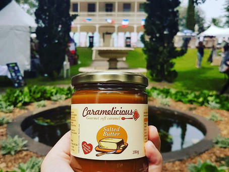 "Caramelicious ""trés Français"" at Paris to Provence Festival."