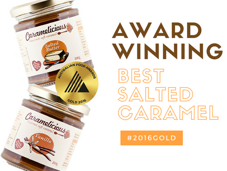 Award Winning Salted Caramels