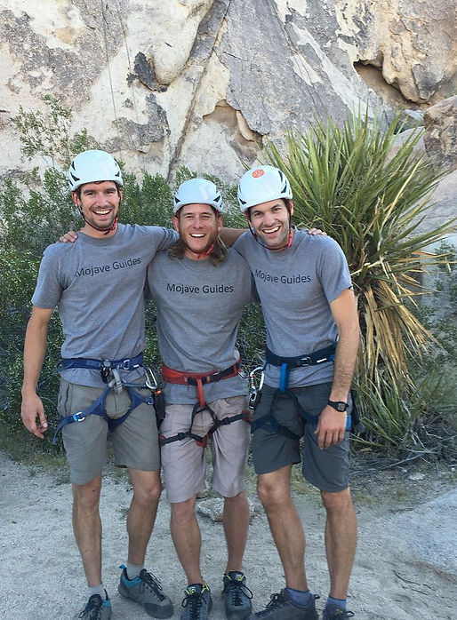 Joshua Tree, rock climbing, guides