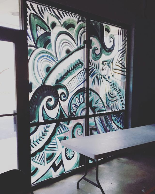 Just finished my first mural! Next job..