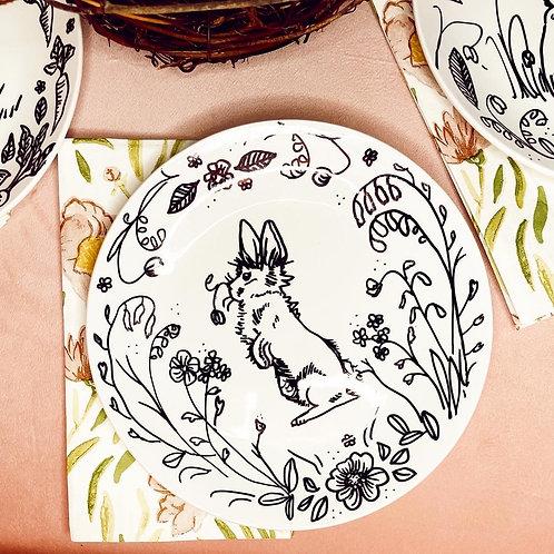 Easter plate set