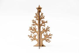 Stunning Oak Veneered Christmas Trees