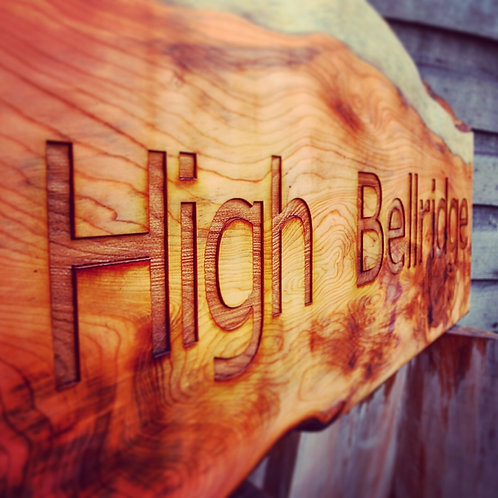 Bespoke  commissioned wooden signs