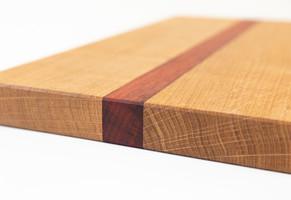 Mixed edge grain boards.