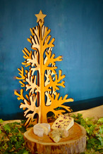 Wooden tree centre piece