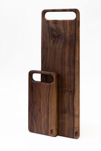 Walnut handled boards