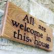 Make your house a home signs