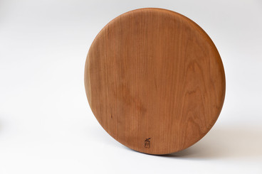 Wooden cake dishes