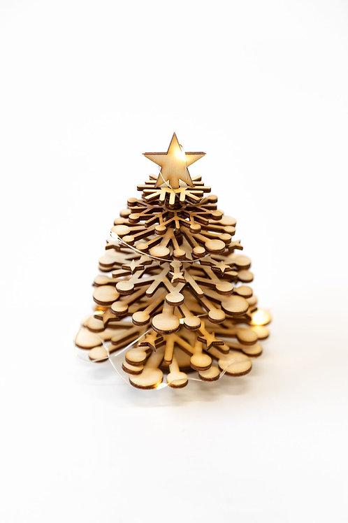 Large wooden Christmas tree kit