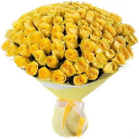 """Букет 101 роза """"Пенни Лейн"""""""