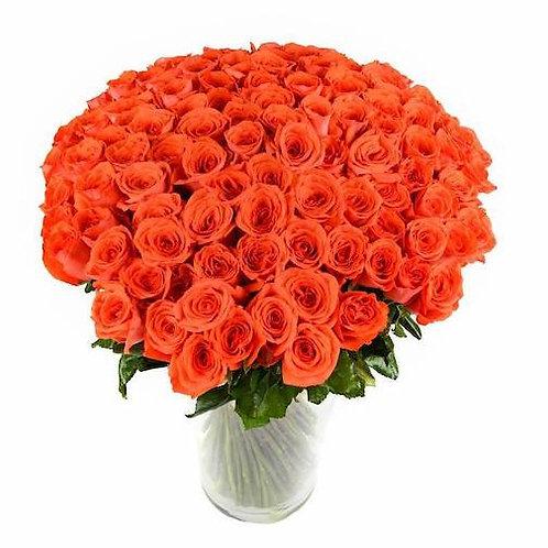 "Букет 101 роза ""Вау"""