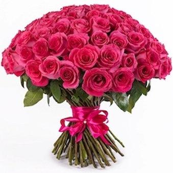 101 роза премиум Эквадор Пинк Флойд