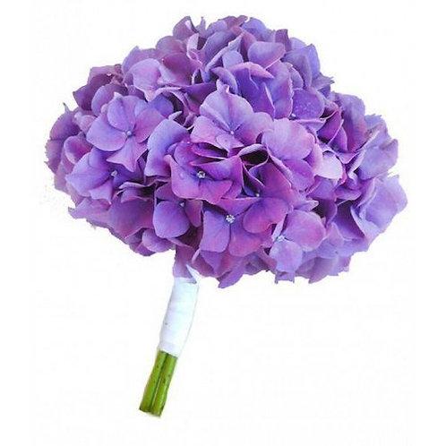 Фиолетовые гортензии поштучно (от 1 шт.)