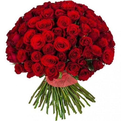 Розы красные Кения (от 100 шт.)