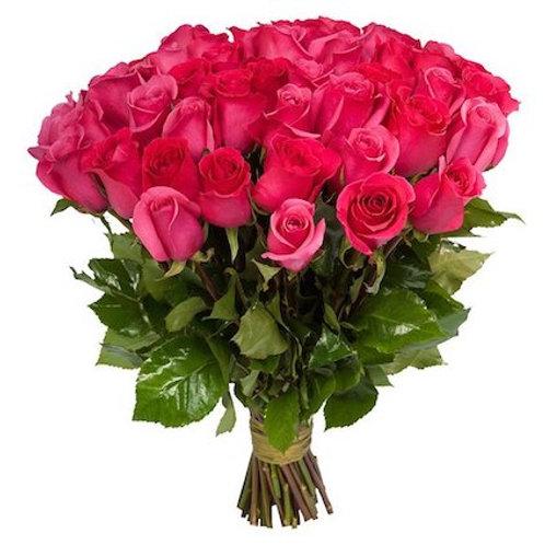 "51 роза премиум Эквадор ""Пинк Флойд"""