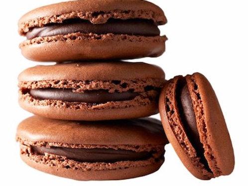 Макаруны шоколадные поштучно